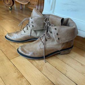 BP Women's Distressed Combat Boots